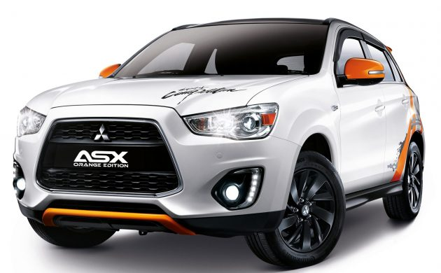 Mitsubishi ASX Orange Edition