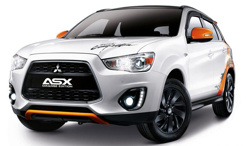 Mitsubishi ASX Orange Edition – 180 units, RM133k Image #511649