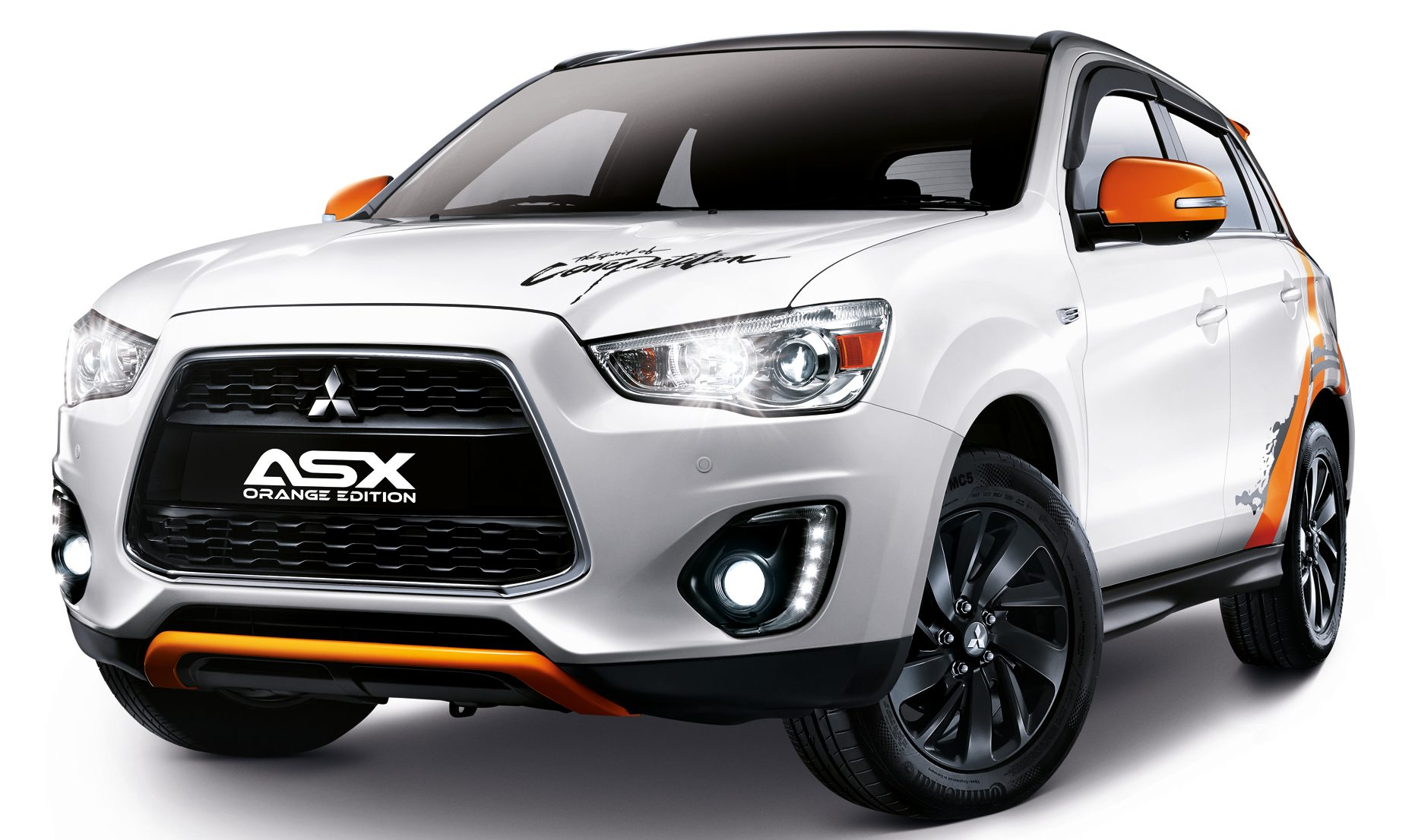 mitsubishi asx orange edition 180 units rm133k