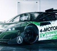 NSX-Inspired EV Concept Ready to 'Charge Up' Pikes Peak