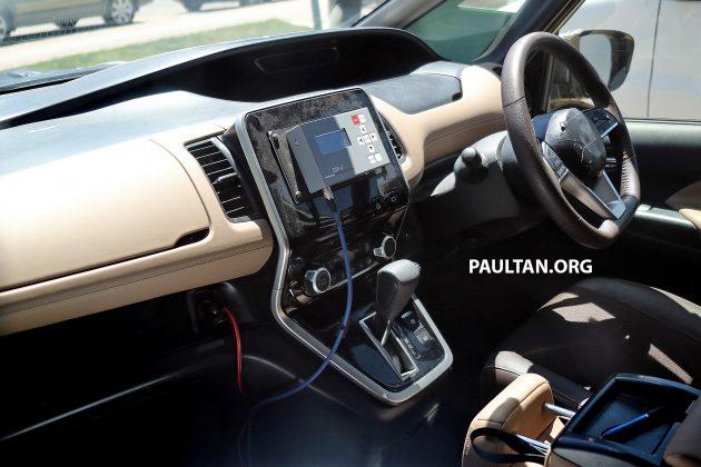 SPIED: Next-gen Nissan Serena - new interior revealed