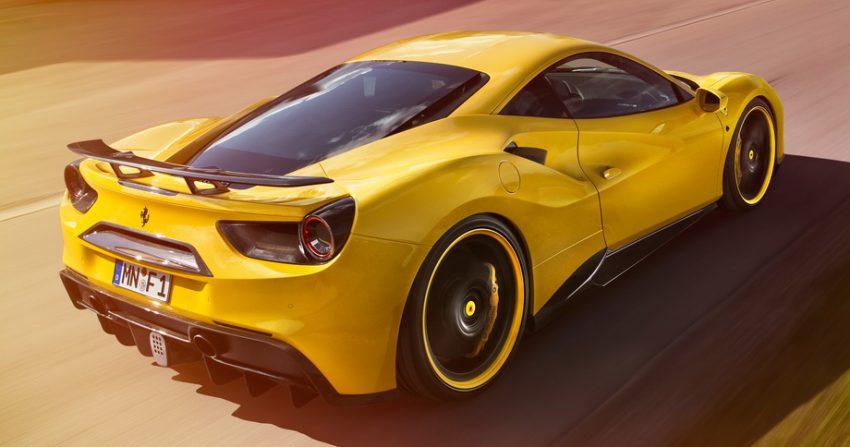 Ferrari 488 GTB gets tuned by Novitec Rosso – 772 hp Image #504812