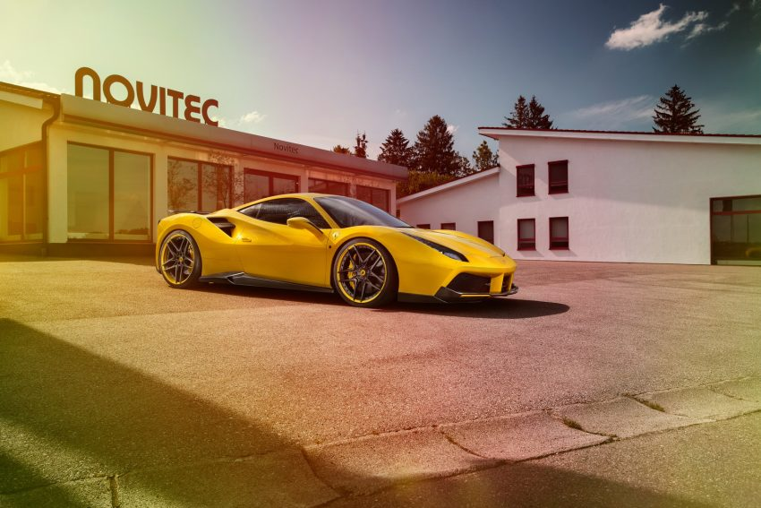 Ferrari 488 GTB gets tuned by Novitec Rosso – 772 hp Image #504814