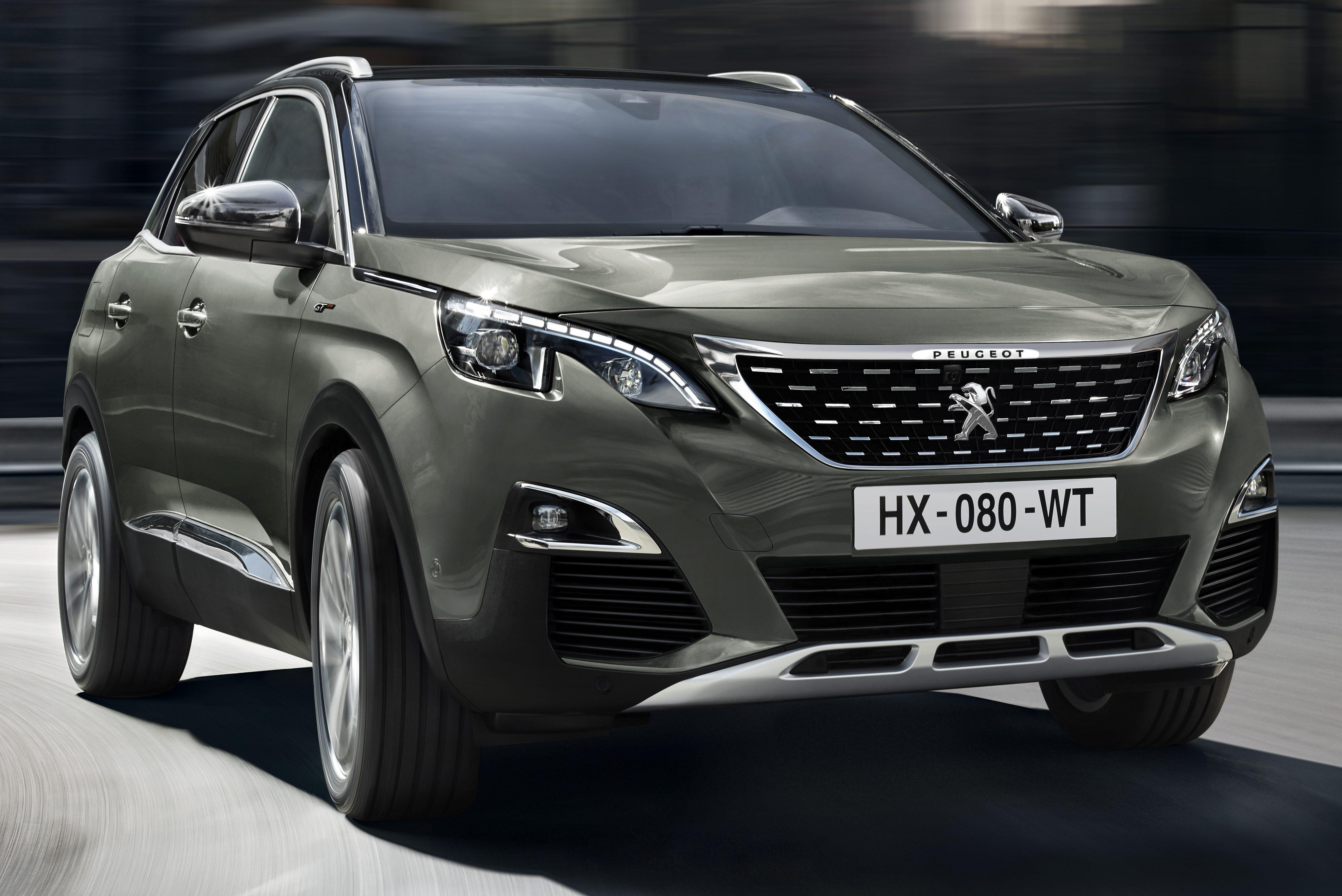 Peugeot Gt Unveiled Hp Diesel Warm Suv