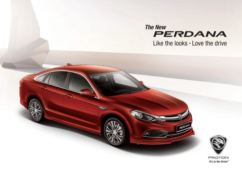 New Proton Perdana officially launched – 2.0L and 2.4L Honda engines, Accord-based sedan from RM113,888 Image #507919