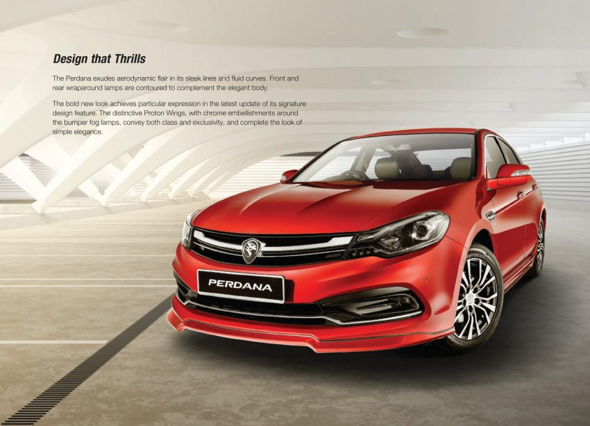 New Proton Perdana officially launched – 2.0L and 2.4L Honda engines, Accord-based sedan from RM113,888 Image #507922