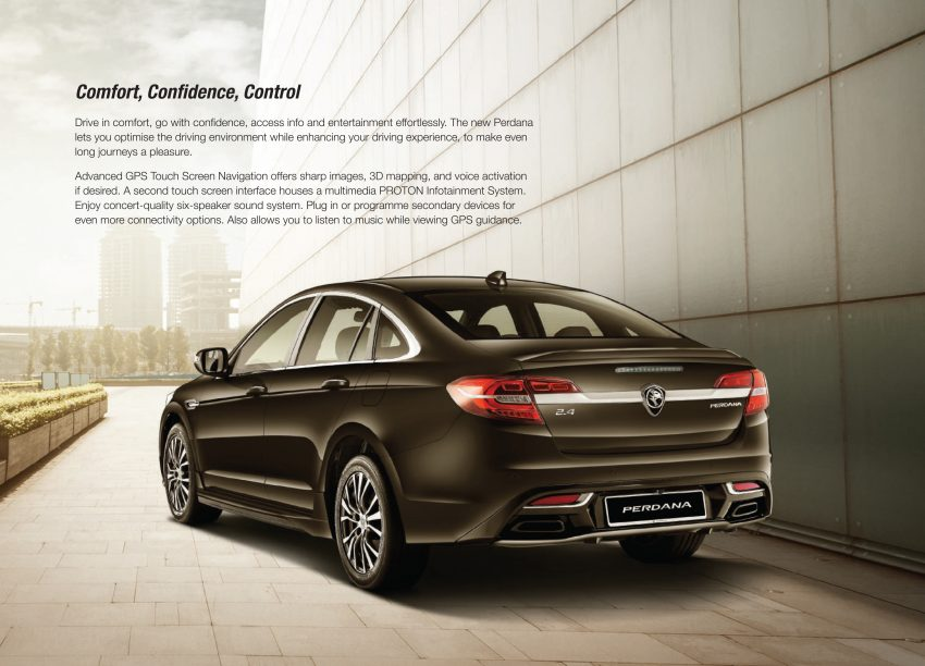 New Proton Perdana officially launched – 2.0L and 2.4L Honda engines, Accord-based sedan from RM113,888 Image #507924