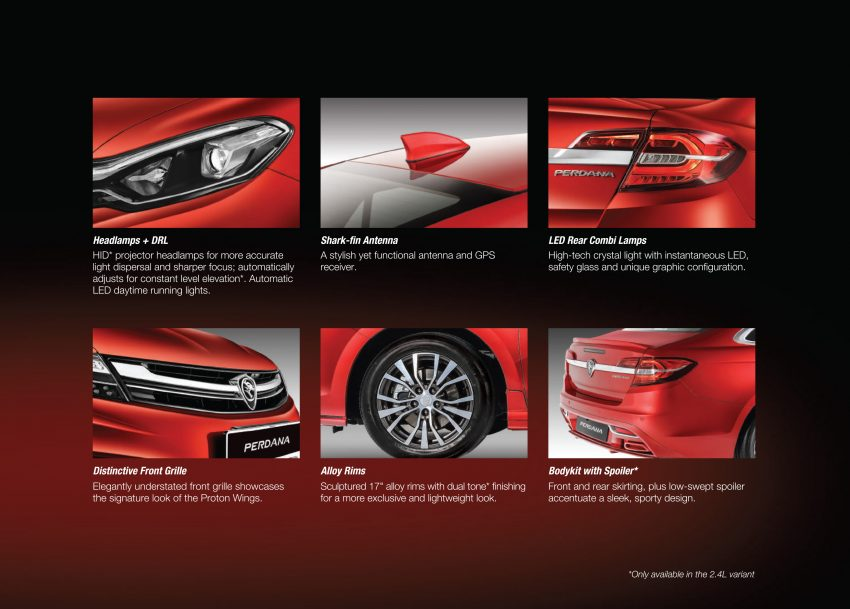 New Proton Perdana officially launched – 2.0L and 2.4L Honda engines, Accord-based sedan from RM113,888 Image #507929