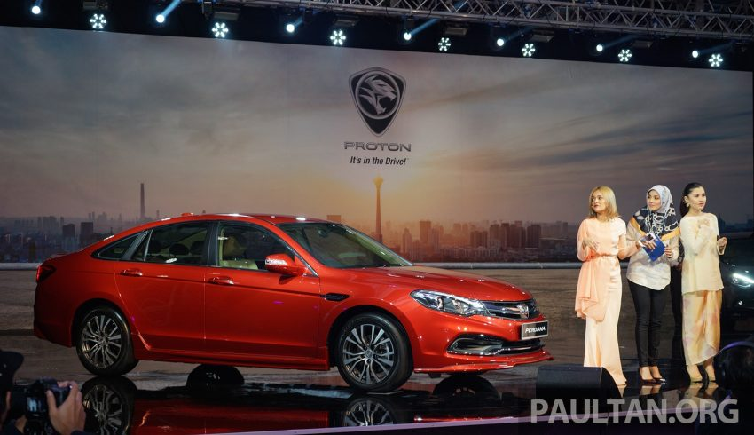 New Proton Perdana officially launched – 2.0L and 2.4L Honda engines, Accord-based sedan from RM113,888 Image #508233