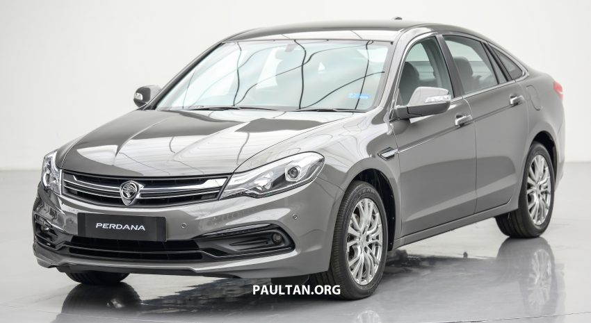 New Proton Perdana officially launched – 2.0L and 2.4L Honda engines, Accord-based sedan from RM113,888 Image #507597