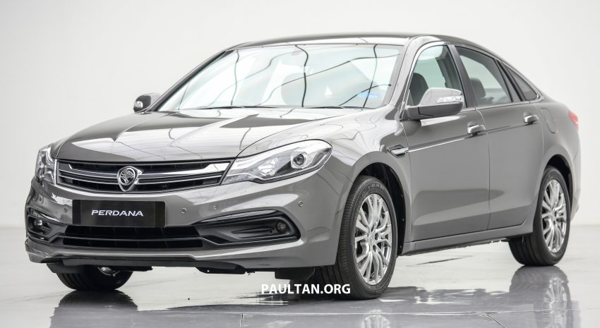 New Proton Perdana officially launched – 2.0L and 2.4L Honda engines, Accord-based sedan from RM113,888 Image #507598