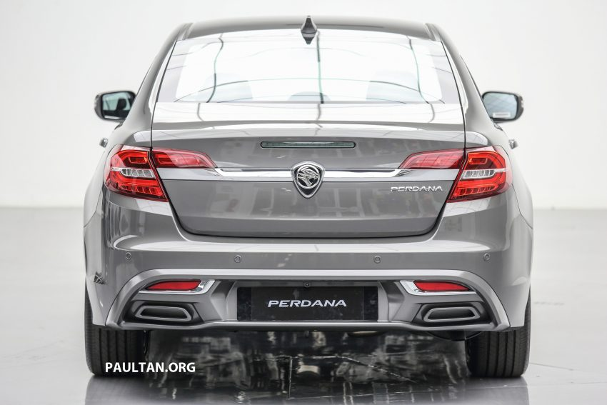 New Proton Perdana officially launched – 2.0L and 2.4L Honda engines, Accord-based sedan from RM113,888 Image #507615