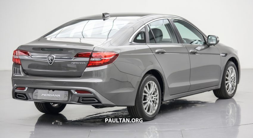 New Proton Perdana officially launched – 2.0L and 2.4L Honda engines, Accord-based sedan from RM113,888 Image #507617