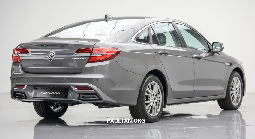New Proton Perdana officially launched – 2.0L and 2.4L Honda engines, Accord-based sedan from RM113,888 Image #507618