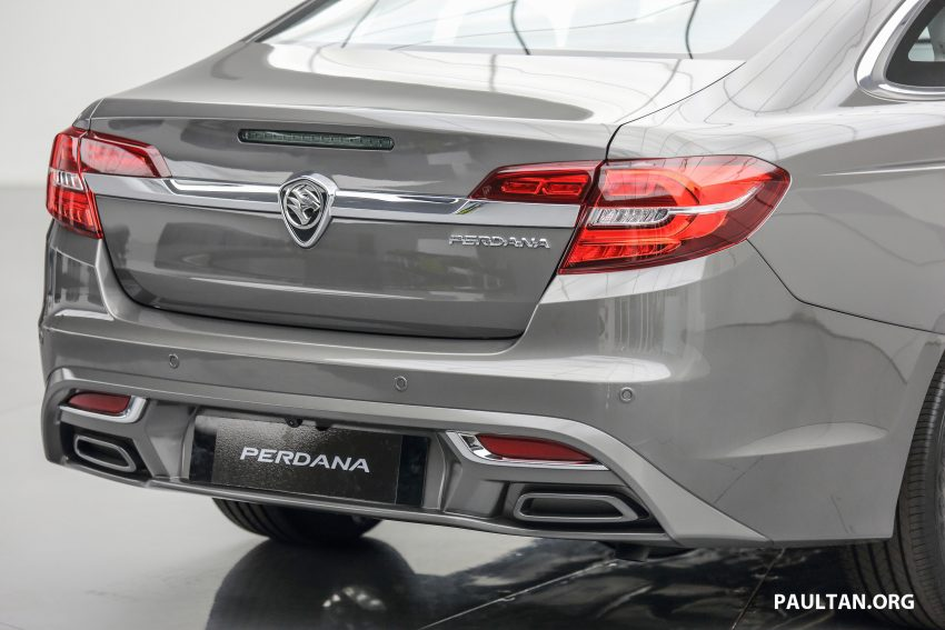 New Proton Perdana officially launched – 2.0L and 2.4L Honda engines, Accord-based sedan from RM113,888 Image #507619