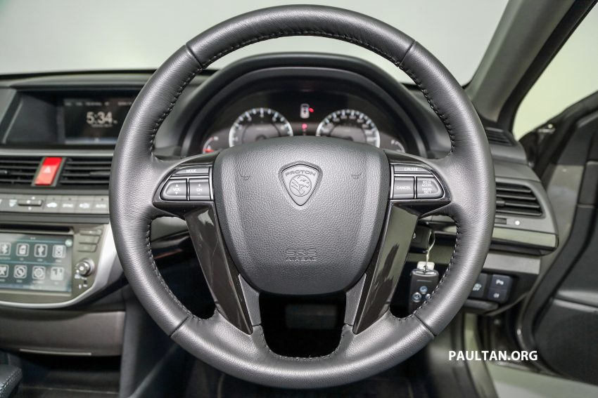 New Proton Perdana officially launched – 2.0L and 2.4L Honda engines, Accord-based sedan from RM113,888 Image #507631
