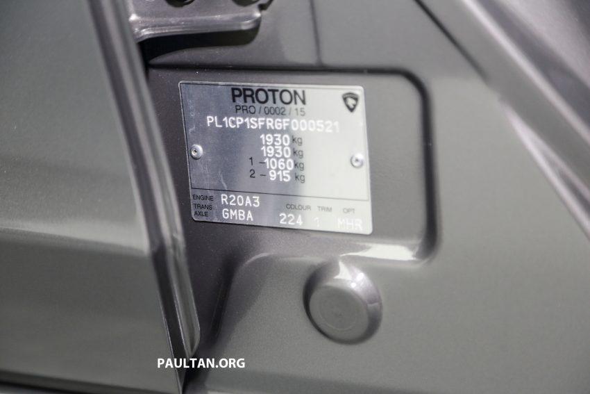 Proton Perdana 2016 dilancarkan – enjin Honda 2.0L dan 2.4L, berasaskan Accord, harga dari RM113,888 Image #507086