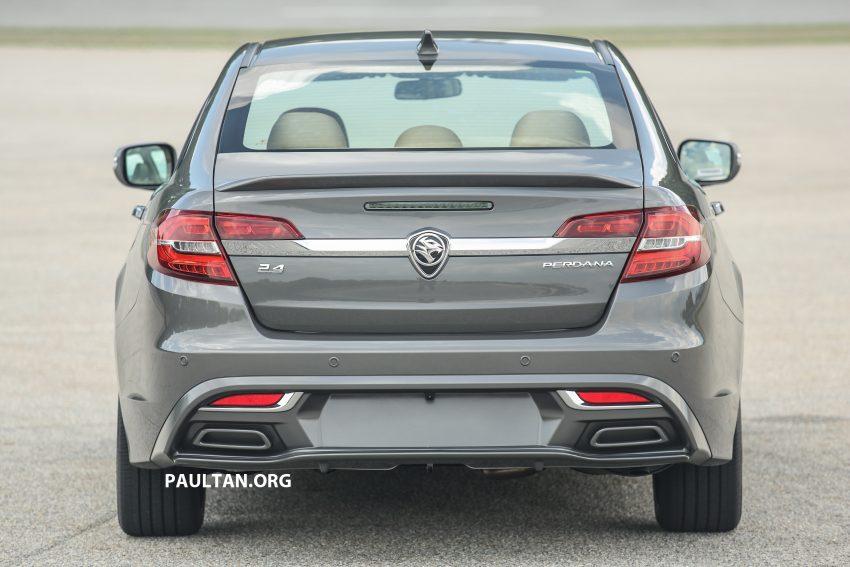 DRIVEN: 2016 Proton Perdana – first impressions Image #508126