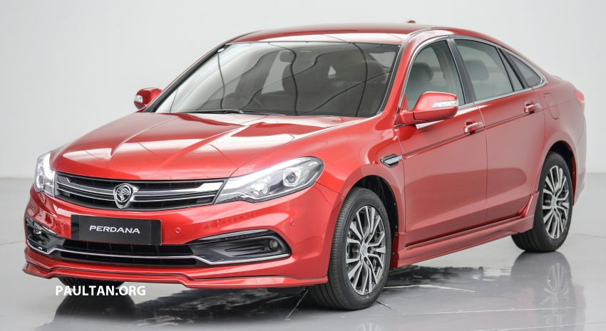 New Proton Perdana officially launched – 2.0L and 2.4L Honda engines, Accord-based sedan from RM113,888 Image #507750