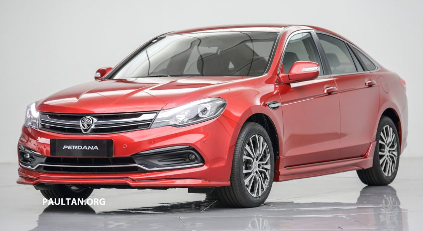 New Proton Perdana officially launched – 2.0L and 2.4L Honda engines, Accord-based sedan from RM113,888 Image #507751