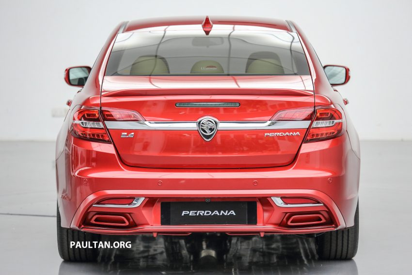 New Proton Perdana officially launched – 2.0L and 2.4L Honda engines, Accord-based sedan from RM113,888 Image #507771