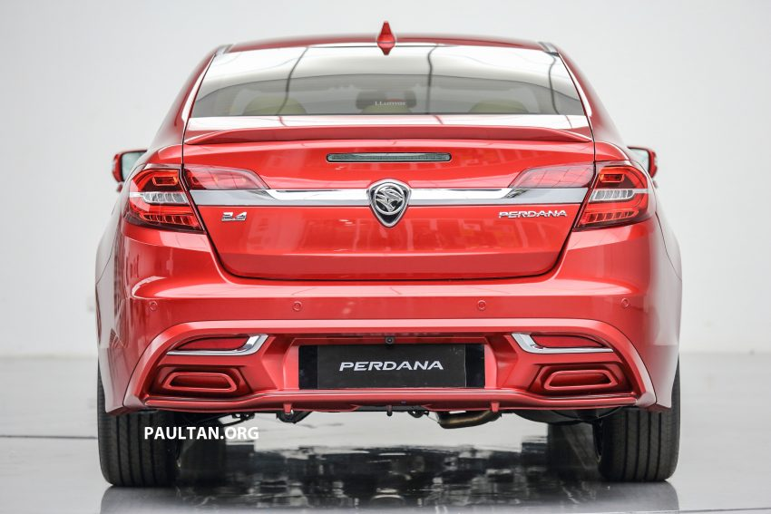 New Proton Perdana officially launched – 2.0L and 2.4L Honda engines, Accord-based sedan from RM113,888 Image #507772