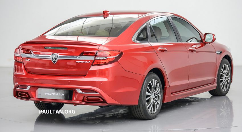 New Proton Perdana officially launched – 2.0L and 2.4L Honda engines, Accord-based sedan from RM113,888 Image #507773