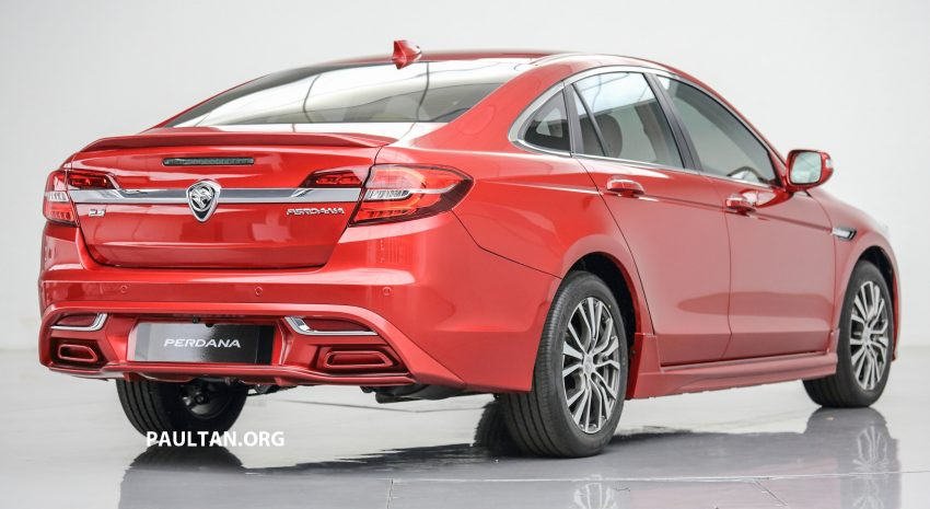New Proton Perdana officially launched – 2.0L and 2.4L Honda engines, Accord-based sedan from RM113,888 Image #507774