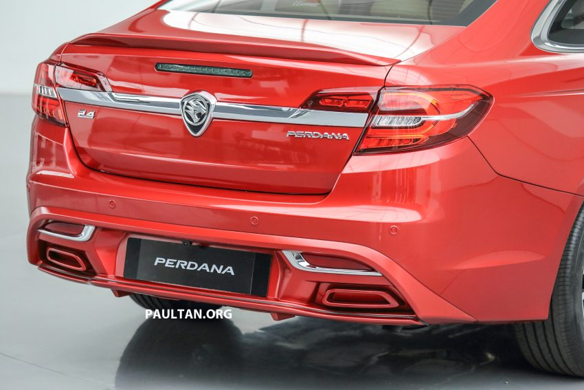 New Proton Perdana officially launched – 2.0L and 2.4L Honda engines, Accord-based sedan from RM113,888 Image #507775