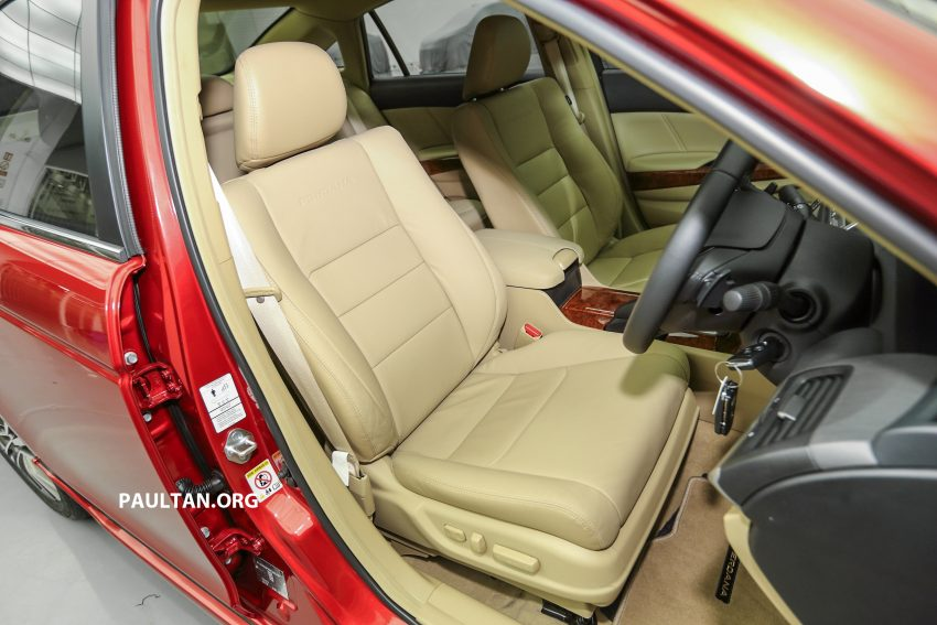 New Proton Perdana officially launched – 2.0L and 2.4L Honda engines, Accord-based sedan from RM113,888 Image #507839