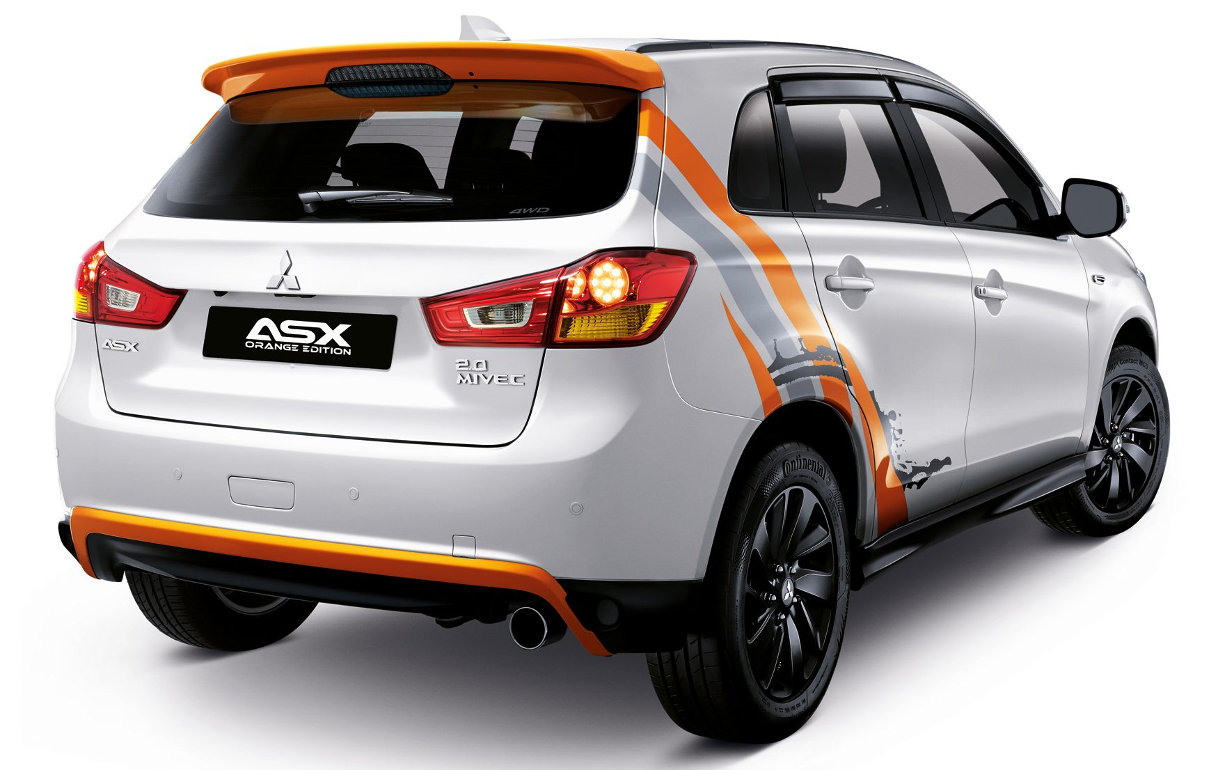 Mitsubishi ASX Orange Edition Units RMk Image - Mitsubishi registration