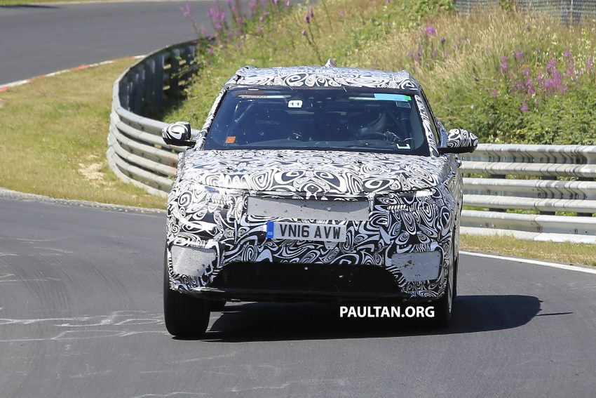 SPIED: L560 Range Rover Sport Coupe testing; alloy platform-based sister model to the Jaguar F-Pace Image #522682