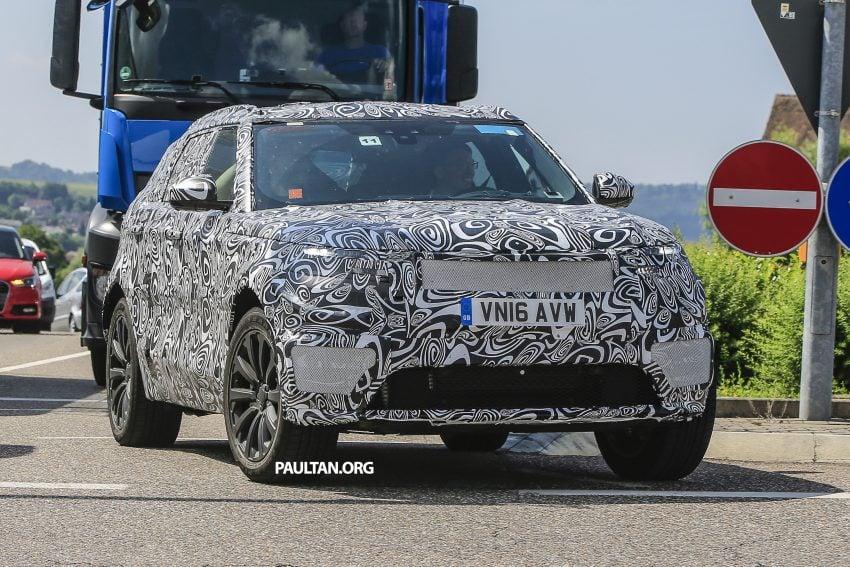 SPIED: L560 Range Rover Sport Coupe testing; alloy platform-based sister model to the Jaguar F-Pace Image #507550