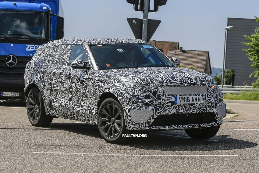 SPIED: L560 Range Rover Sport Coupe testing; alloy platform-based sister model to the Jaguar F-Pace Image #507551