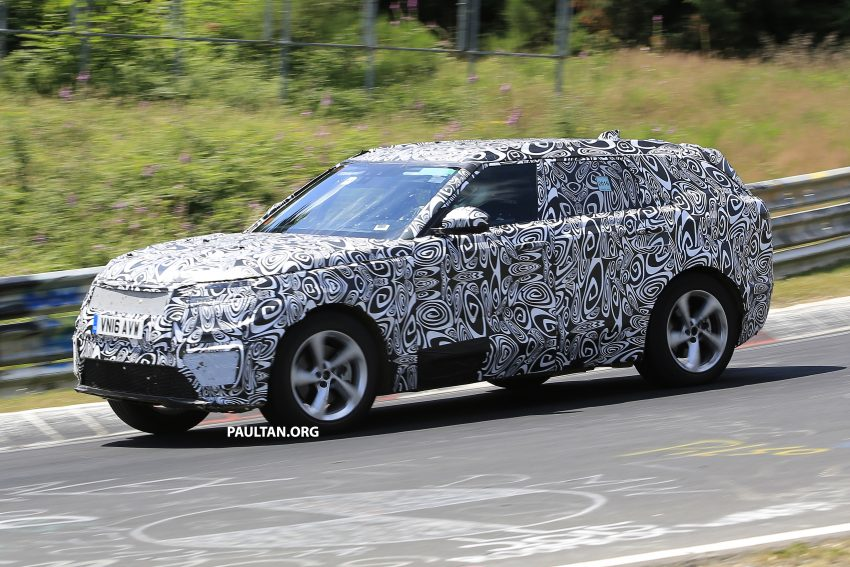 SPIED: L560 Range Rover Sport Coupe testing; alloy platform-based sister model to the Jaguar F-Pace Image #522679