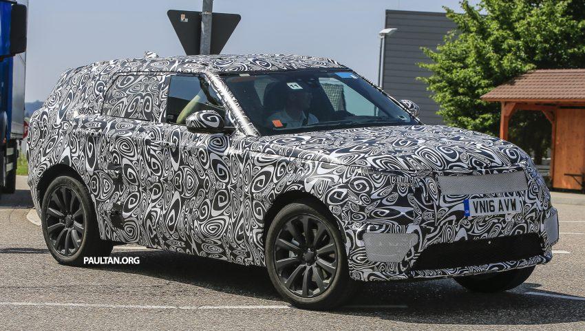 SPIED: L560 Range Rover Sport Coupe testing; alloy platform-based sister model to the Jaguar F-Pace Image #507546