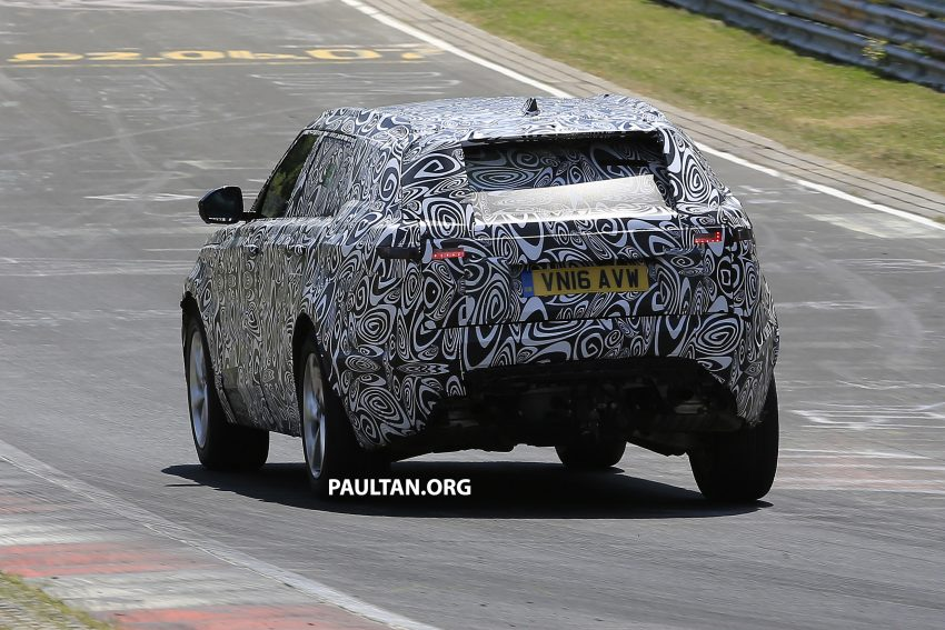 SPIED: L560 Range Rover Sport Coupe testing; alloy platform-based sister model to the Jaguar F-Pace Image #522675