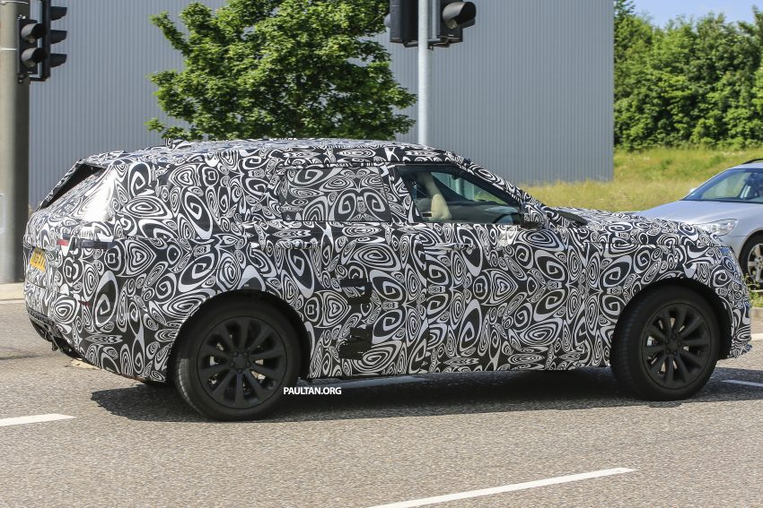 SPIED: L560 Range Rover Sport Coupe testing; alloy platform-based sister model to the Jaguar F-Pace Image #507556