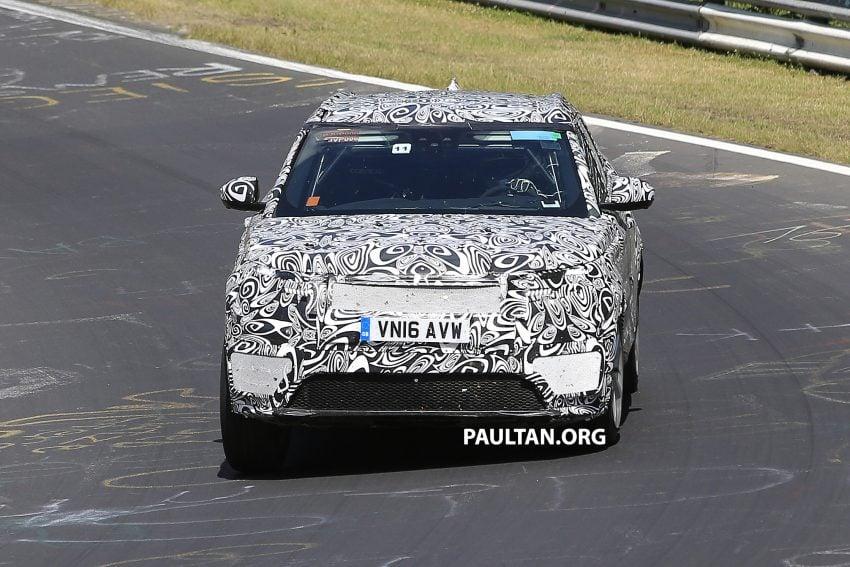 SPIED: L560 Range Rover Sport Coupe testing; alloy platform-based sister model to the Jaguar F-Pace Image #522674