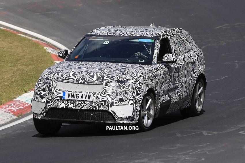 SPIED: L560 Range Rover Sport Coupe testing; alloy platform-based sister model to the Jaguar F-Pace Image #522673