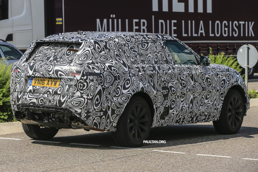 SPIED: L560 Range Rover Sport Coupe testing; alloy platform-based sister model to the Jaguar F-Pace Image #507558