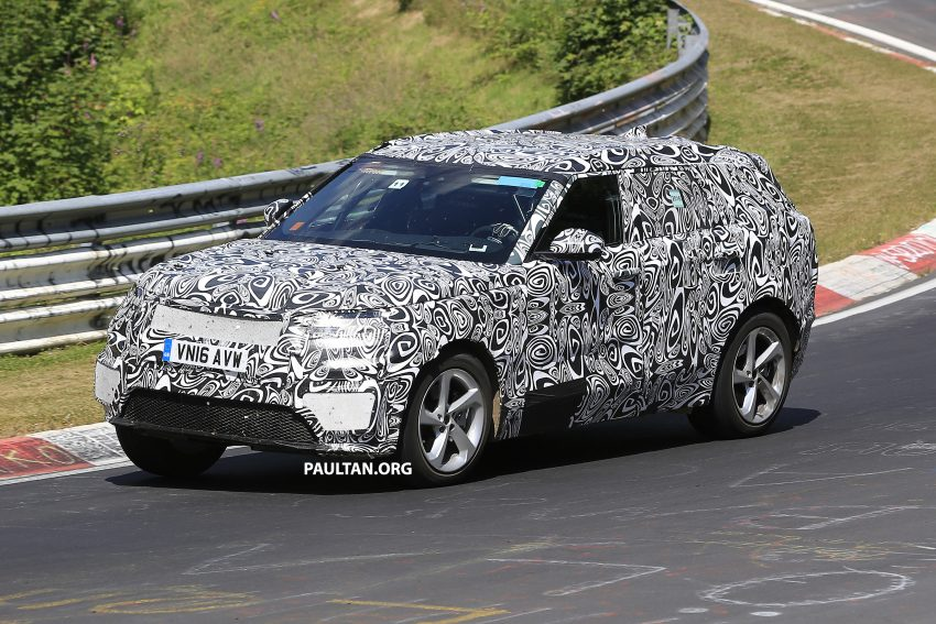 SPIED: L560 Range Rover Sport Coupe testing; alloy platform-based sister model to the Jaguar F-Pace Image #522672
