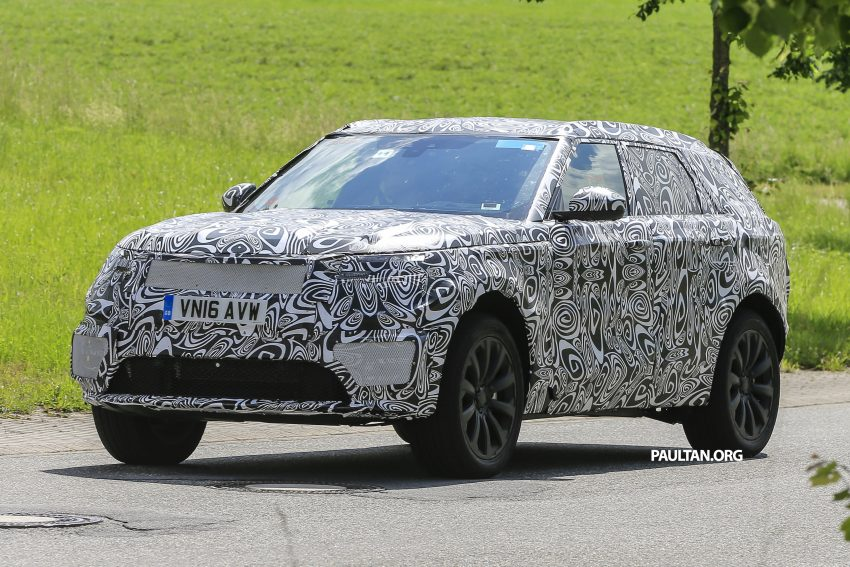 SPIED: L560 Range Rover Sport Coupe testing; alloy platform-based sister model to the Jaguar F-Pace Image #507559