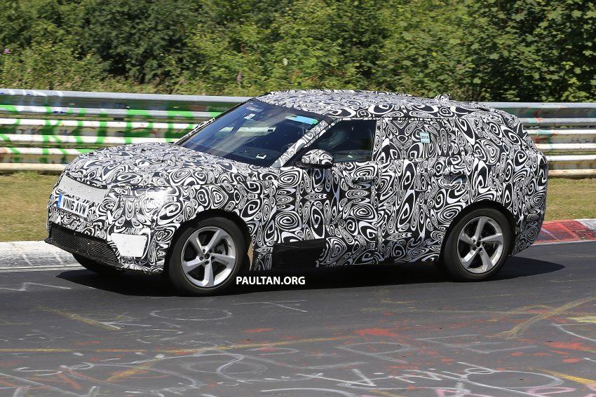 SPIED: L560 Range Rover Sport Coupe testing; alloy platform-based sister model to the Jaguar F-Pace Image #522671