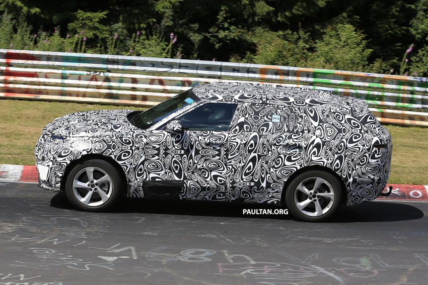 SPIED: L560 Range Rover Sport Coupe testing; alloy platform-based sister model to the Jaguar F-Pace Image #522669