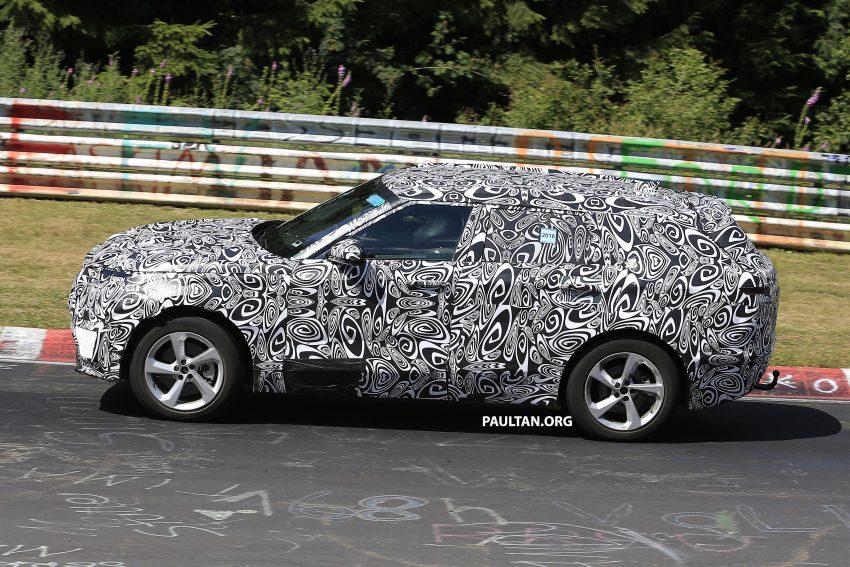 SPIED: L560 Range Rover Sport Coupe testing; alloy platform-based sister model to the Jaguar F-Pace Image #522669