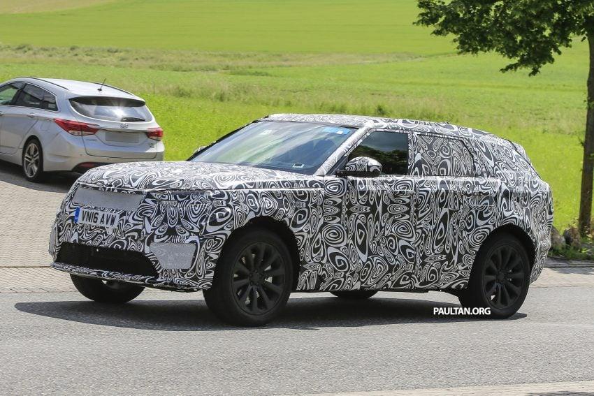 SPIED: L560 Range Rover Sport Coupe testing; alloy platform-based sister model to the Jaguar F-Pace Image #507561