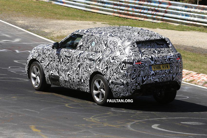SPIED: L560 Range Rover Sport Coupe testing; alloy platform-based sister model to the Jaguar F-Pace Image #522668