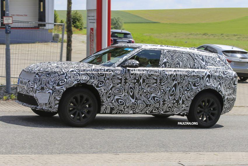 SPIED: L560 Range Rover Sport Coupe testing; alloy platform-based sister model to the Jaguar F-Pace Image #507562