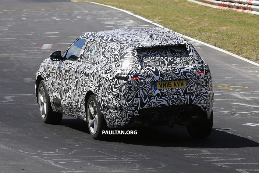 SPIED: L560 Range Rover Sport Coupe testing; alloy platform-based sister model to the Jaguar F-Pace Image #522667